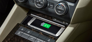 Qi Wireless Charging Phonebox for Škoda Superb and Octavia model series