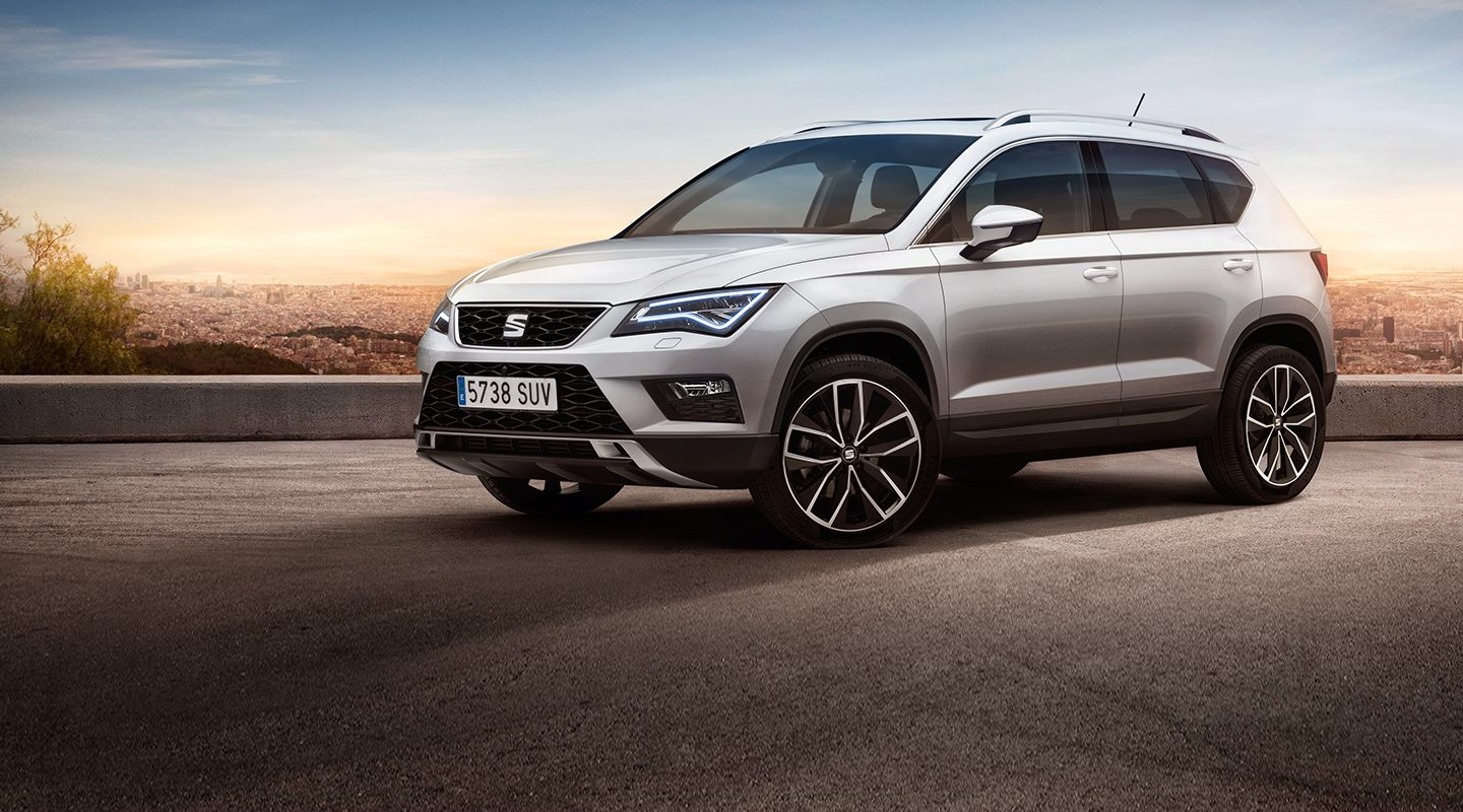 NEW Seat Ateca SUV with Qi Wireless Charging Box