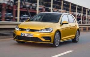 New Volkswagen Golf 7 Facelift with Qi Wireless Charging